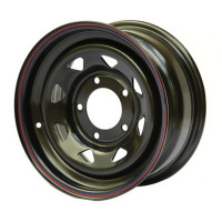 Off Road Wheels Isuzu, Toyota, Nissan №24 8x17 6x139.7 ET-25 D110 Черный