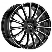 MSW 30 7.5x17 5x108 ET45 D73 Black Full Polished