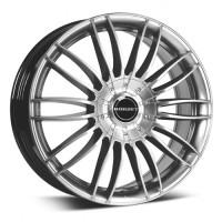 Borbet CW3 9x21 5x120 ET40 D72.5 Sterling Silver