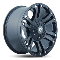 BUFFALO BW-778 9x18 5x139.7 ET-12 D110.5 Matt Black