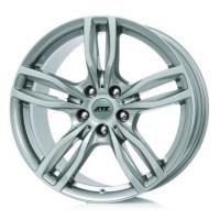 ATS Evolution 8x17 5x120 ET43 D72.6 Polar Silver