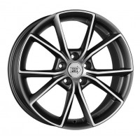 1000 MIGLIA MM035 8x18 5x112 ET39 D66.6 Anthracite Polished