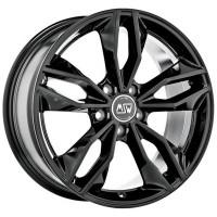 MSW 71 8x18 5x108 ET50 D63.3 Black Glossy