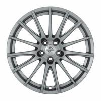 Fondmetal 7800 7x17 5x115 ET42 D70.1 Shiny Silver