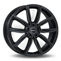 MAK Allianz 8.5x19 5x112 ET25 D66.6 Black Glossy