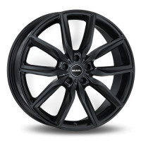 MAK Allianz 9x20 5x112 ET44 D66.6 Black Glossy