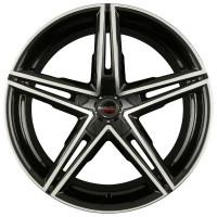 Borbet XRS 8x18 5x112 ET40 D72.5 Black Polished Glossy