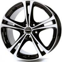 Borbet XL 8x18 5x112 ET35 D72.5 Black Polished Glossy