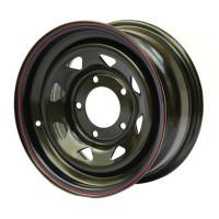 Off Road Wheels Isuzu, Toyota, Nissan №6 8x15 6x139.7 ET-19 D110 Черный