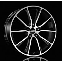 BBS SV 10x20 5x130 ET40 D71.6 Satin Black Diamond Cut