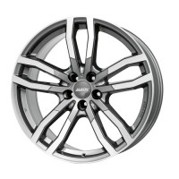 Alutec DriveX 9.5x21 5x112 ET22 D66.5 Metal Grey Front Polished
