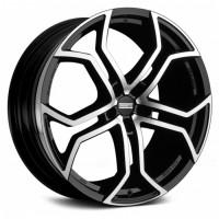 Fondmetal 9XR 9x20 5x120 ET45 D74.1 Black Polished