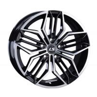 LS Wheels 1001 8x17 5x114.3 ET40 D67.1 BKF