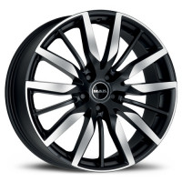 MAK Barbury 8.5x20 5x108 ET45 D63.4 Ice Black