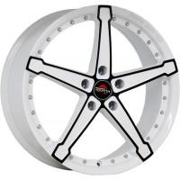 Yokatta MODEL-10 6x15 5x105 ET39 D56.6 W+B