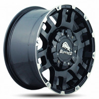 BUFFALO BW-004 9x20 6x139.7 ET0 D106.3 Black Machined