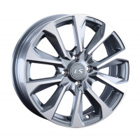 LS Wheels 1006 6x16 5x114.3 ET43 D67.1 GMF